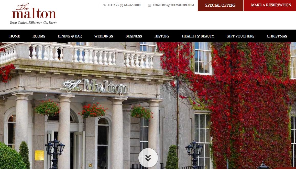 The Malton Hôtel Killarney