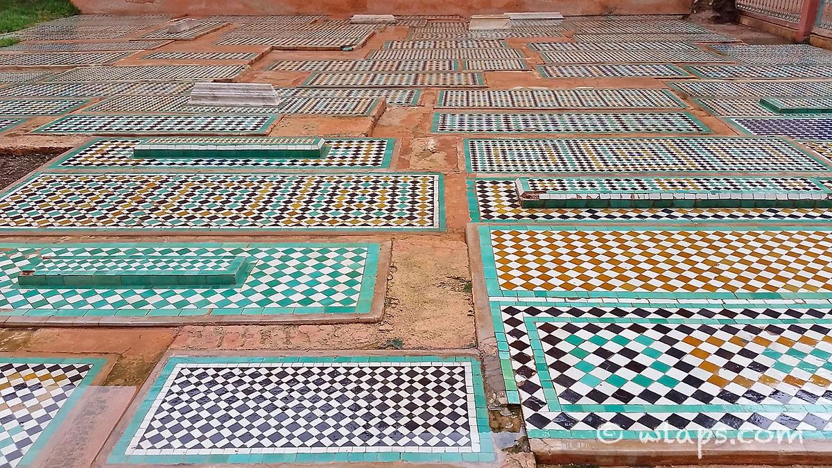 couleurs-tombeaux-saadiens-carnet-voyage-maroc-marrakech