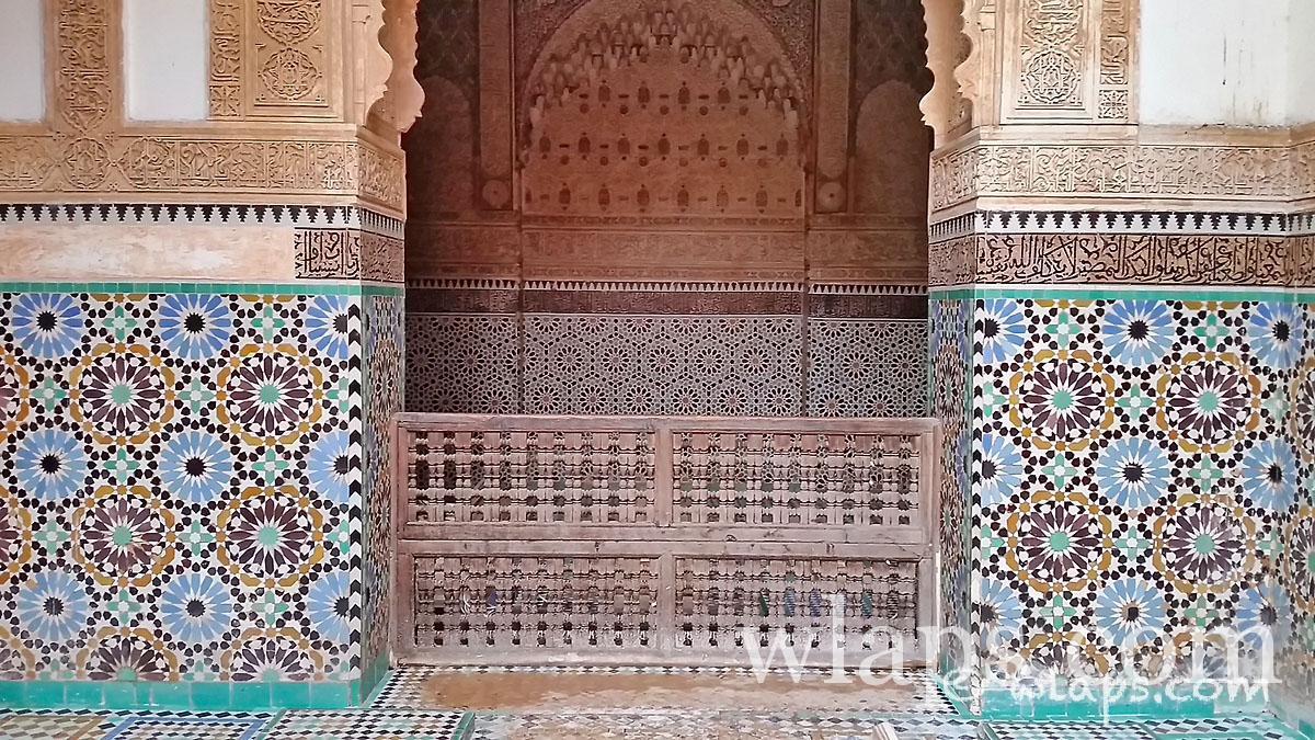 entree-tombeaux-saadiens-carnet-voyage-maroc-marrakech