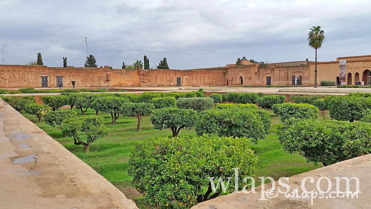 mandariniers-palais-badia-carnet-voyage-maroc-marrakech