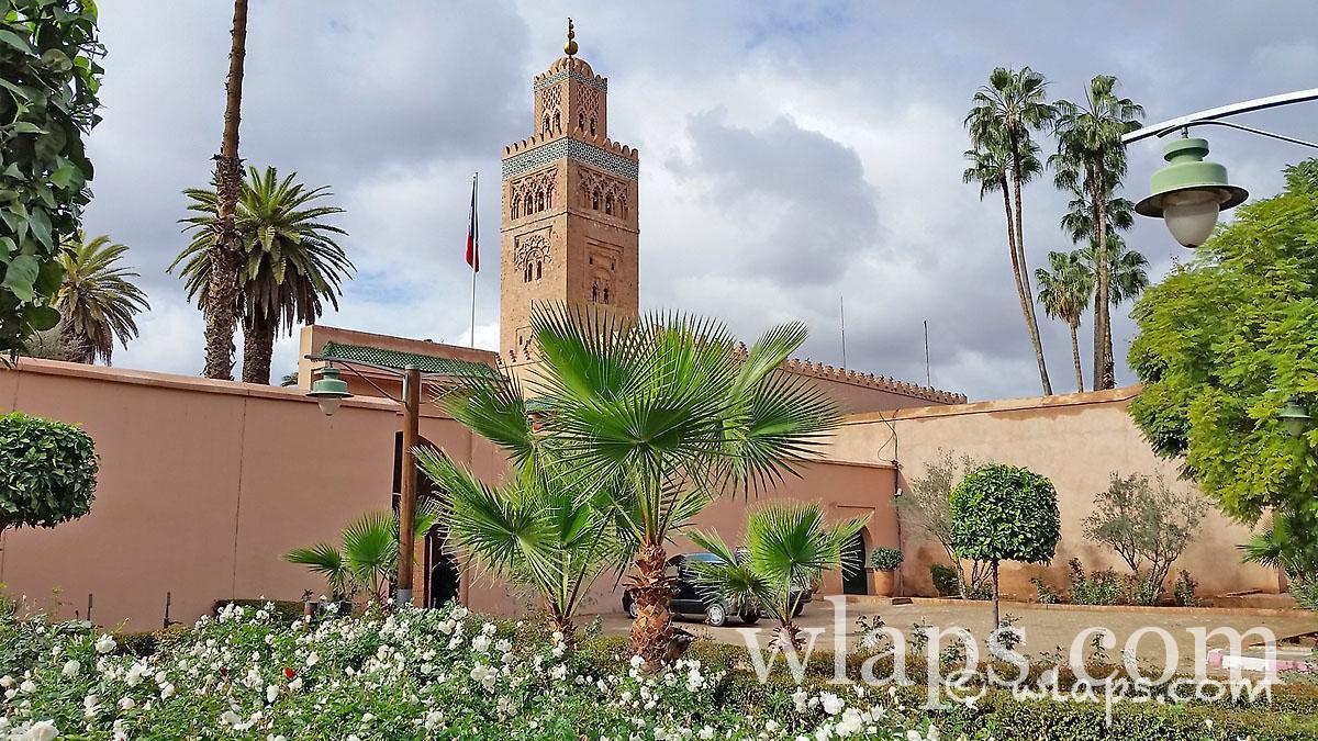 Mosquee carnet voyage maroc marrakech wlaps for Sejour complet marrakech