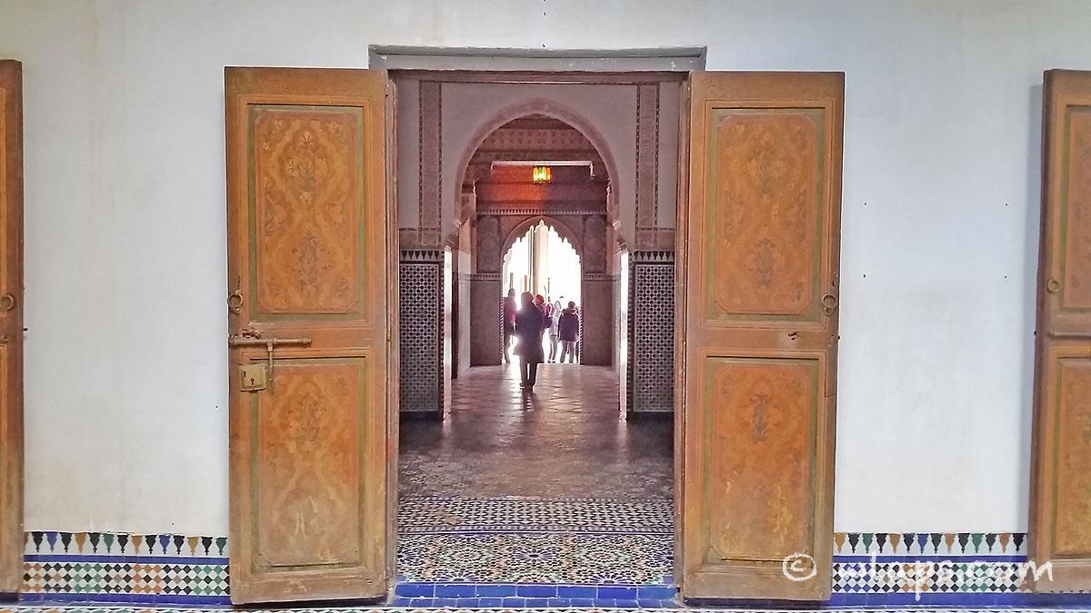 portes-palais-bahia-marrakech-maroc
