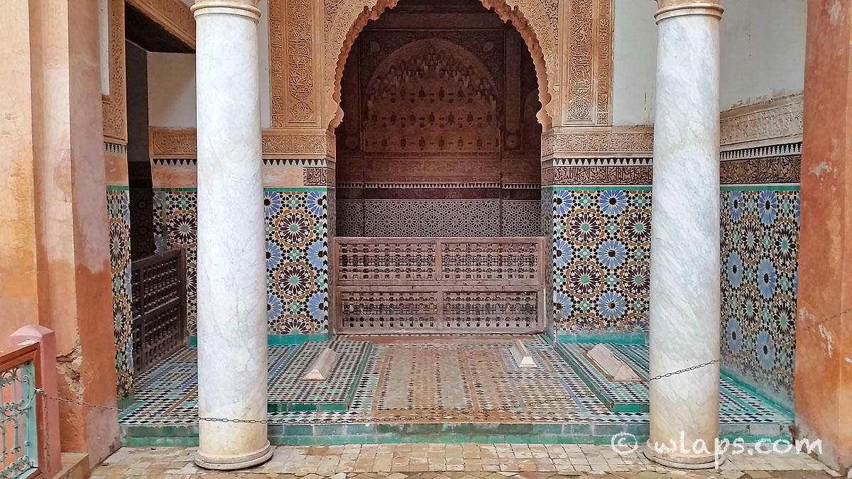 rosaces-tombeaux-saadiens-carnet-voyage-maroc-marrakech