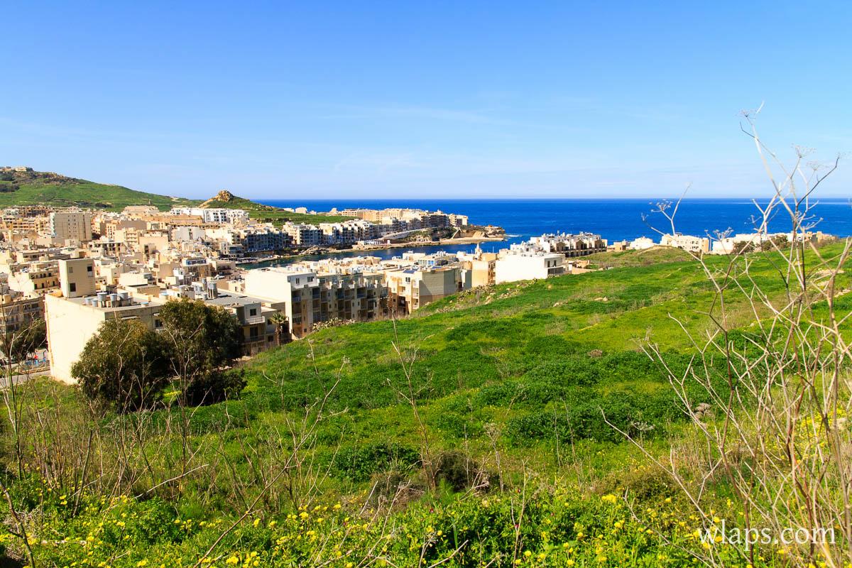 ville-ile-gozo-mer